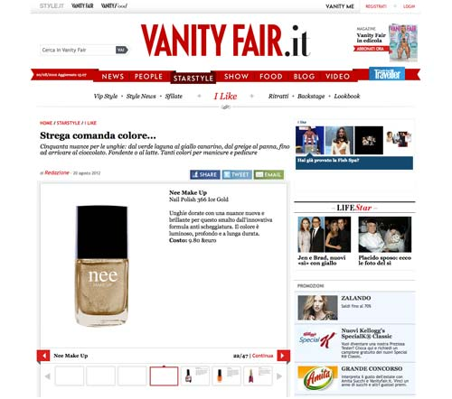 vanityfair.it  - agosto 2012
